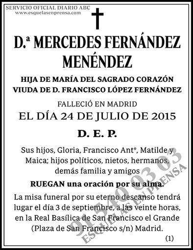 Mercedes Fernández Menéndez